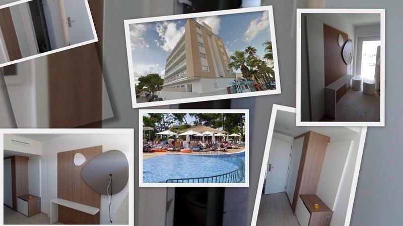 Montaje de mobiliario en hotel