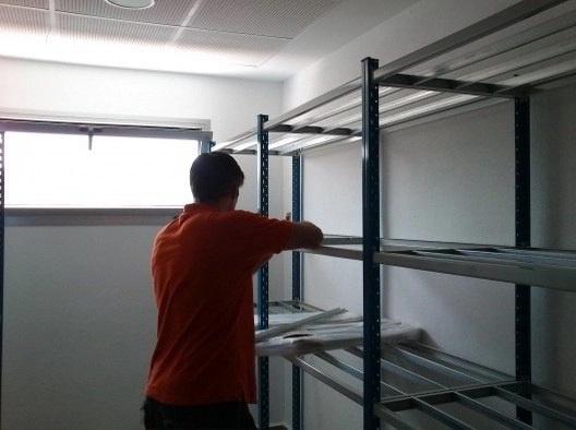 Montaje e Instalación de Estanterías Metálicas a Nivel Nacional
