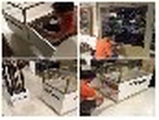 Montaje de Mobiliario en Centros Comerciales el Corte Ingles