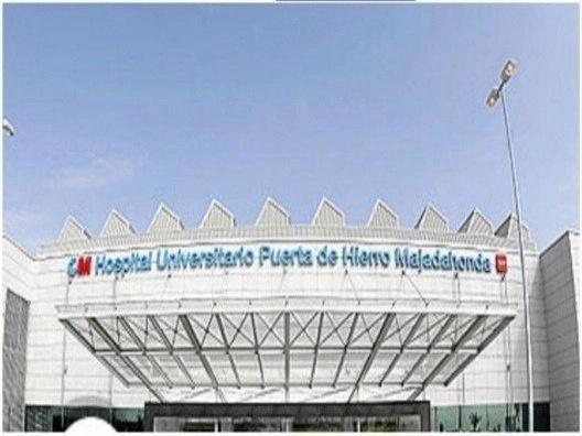 Montaje en hospital PUERTA DE HIERRO Madrid de laboratorios y mobiliario clínico