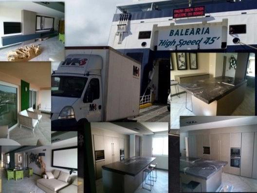Montaje de Mobiliario en Ibiza, Piso y casas de Lujo