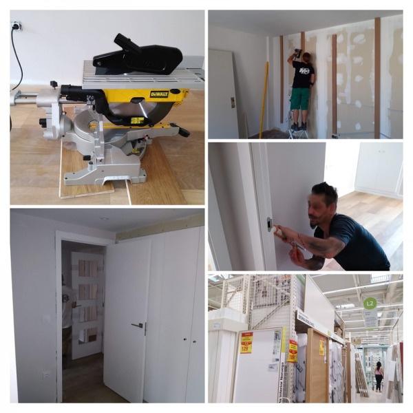 Instalación de carpintería en obra, viviendas, oficinas, stands, centros comerciales y escenografía en julio 2019