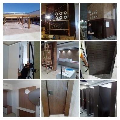 Montaje e instalación de carpintería obra contract