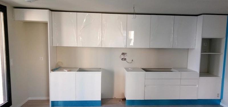 instalación cocina obra
