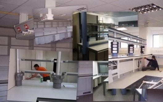 Montaje y Desmontaje de Muebles de Laboratorio o Clínico