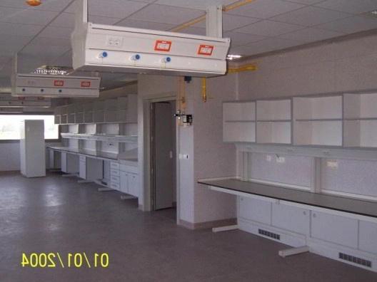 Instalación de Mobiliario de Laboratorio