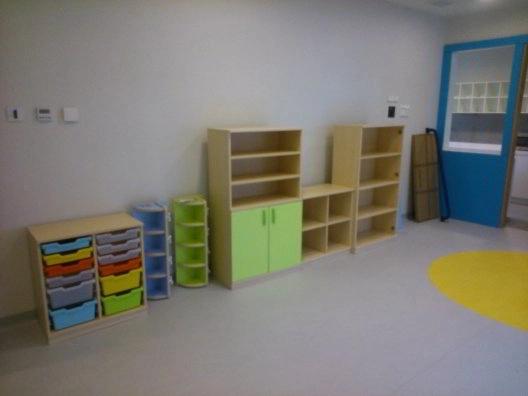 Montaje de muebles escolar