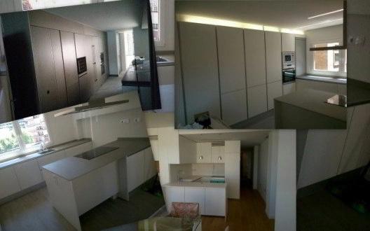 Montadores de mobiliario de cocina en obra contract