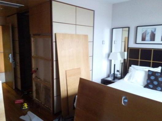 Montaje de mobiliario para hostelería