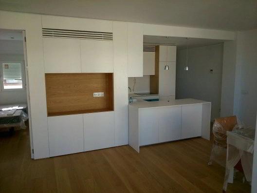 Montaje de muebles de cocina en obra contract