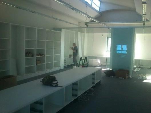 Montaje de muebles de oficinas